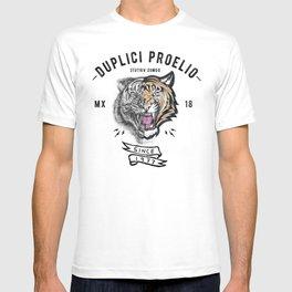 DUPLICI PROELIO Tiger by leo Tezcucano T-shirt