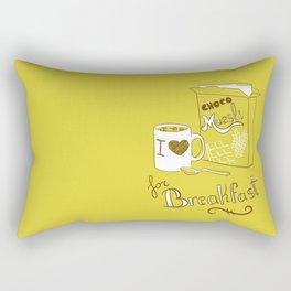I love chocomuesli! Rectangular Pillow