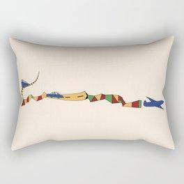 Saturday Jam - Cromatik 5 Rectangular Pillow