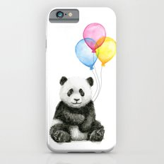 Panda Baby with Balloons Whimsical Nursery Animals Slim Case iPhone 6s