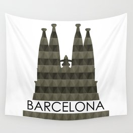 Sagrada Familia Wall Tapestry