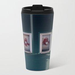 Red Sox Metal Travel Mug