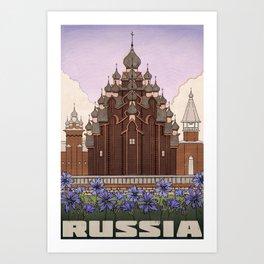 Russia Art Print