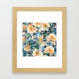 Magic garden Framed Art Print