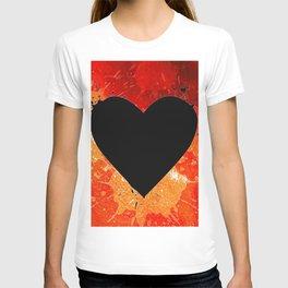 Red Hot Heart T-shirt