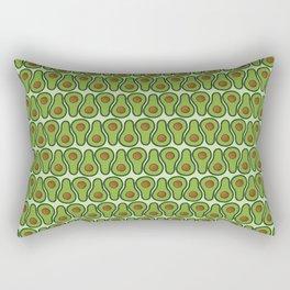 Avocado Doodle Pattern - Taco Series Rectangular Pillow