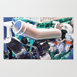 Natural gas engine Rug