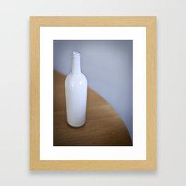 Bottled Up Alone Framed Art Print