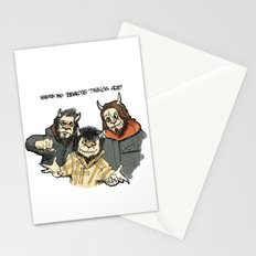 Where The Beastie Things Are Stationery Cards