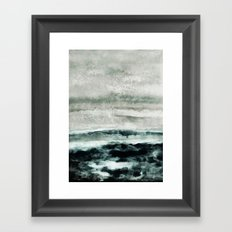 abstract waterscape Framed Art Print