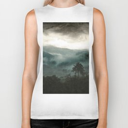 Above the Clouds and Beyond Biker Tank