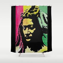 Roots Reggae Shower Curtain