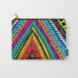 colorful triangle tribal Carry-All Pouch