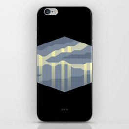 Radioactive Cloud iPhone Skin