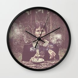 (our) Nature Destroyed (our) Home Wall Clock