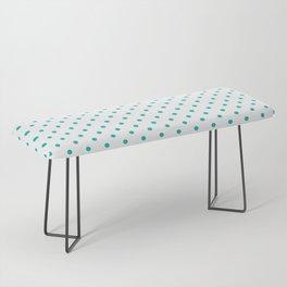 Dots (Eggshell Blue/White) Bench