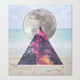 cosmic beach Canvas Print