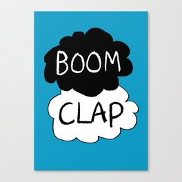 Boom Clap (the sound of my heart - TFIOS) Canvas Print
