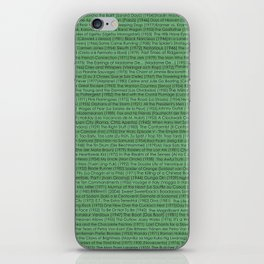 Best Movies Ever iPhone Skin
