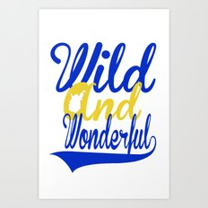 Wild and Wonderful WV Art Print