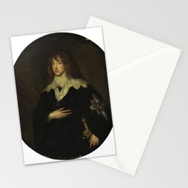 Anthony van Dyck - Portrait of Charles Louis, Elector Palatine Stationery Cards