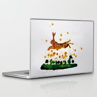 hare Laptop & iPad Skins featuring Hare by Condor