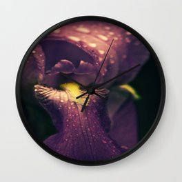 Lillys Wet Tongue Wall Clock
