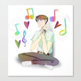 Shinji Ikari  Canvas Print