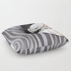 Chickadee Floor Pillow