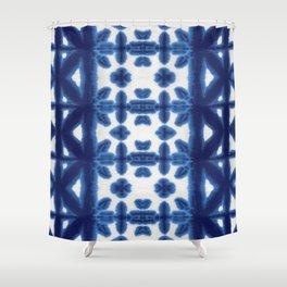 Royal Pima Shibori Shower Curtain