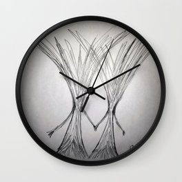 Together Ever After Wall Clock