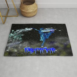 Aquarius Astrology Sign Rug