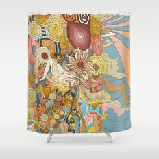 Great Fruits & Blood Oranges Shower Curtain