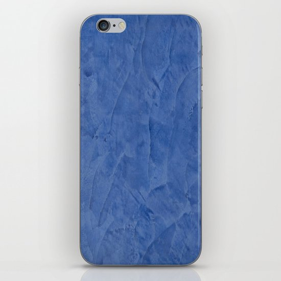 Light Blue Stucco iPhone & iPod Skin