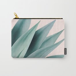 Agave flare II - peach Carry-All Pouch