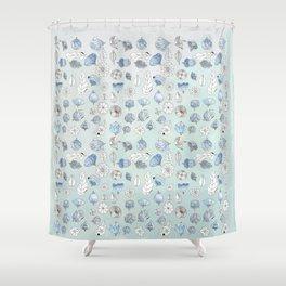 Azul Shower Curtain
