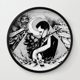 let's start a cult together Wall Clock