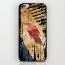 Chevy Rat Rod Badge iPhone Skin