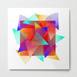 triangle ride Metal Print