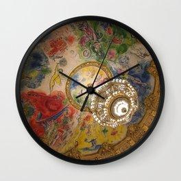 Opera Garnier Paris Wall Clock