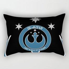 Blue Squadron (Resistance) Rectangular Pillow