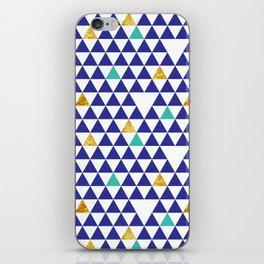cozumel triangles iPhone Skin