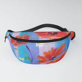 Beautiful Poppies Fanny Pack