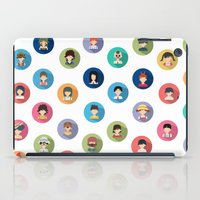studio ghibli iPad Cases featuring Studio Ghibli Flat by TubaTOPAL
