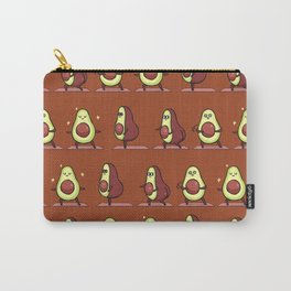 Warrior II  Avocado Yoga Carry-All Pouch