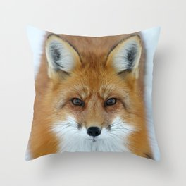 I can see into your soul Throw Pillow