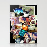 instagram Stationery Cards featuring Instagram  by Nic Moore