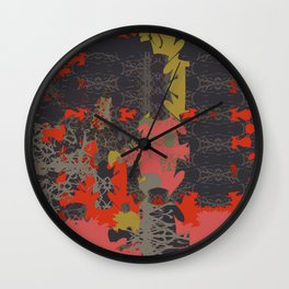 Energy Square 2 Wall Clock