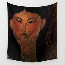 """Amedeo Modigliani """"Beatrice Hastings"""" (1915) Wall Tapestry"""