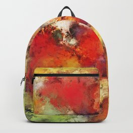 Red colour identity Backpack